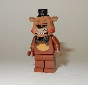**NEW** LEGO Custom Printed FNAF - TOY FREDDY Five Nights At Freddy's Minifigure