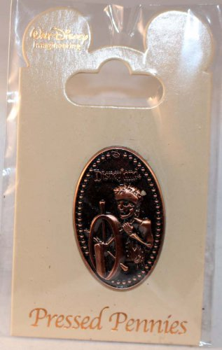 Walt Disney Imagineering WDI Pressed Pennies Pin Pirates of the Caribbean Ship's Wheel Ltd Ed 250