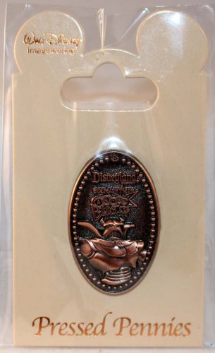 Walt Disney Imagineering WDI Pressed Pennies Pin Astro Blasters Zurg Limited Edition 250