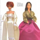 Vogue Sewing Pattern 7222 Barbie Doll Outfits Circa 1960 and 1970 Uncut and Unused