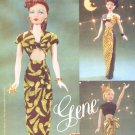 Vogue Sewing Pattern 7326 Gene Doll Evening Outfits Circa 1945 Uncut and Unused