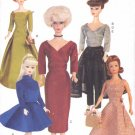 Vogue Sewing Pattern 7384 Vintage Barbie Doll Outfits Circa 1955 Uncut and Unused