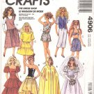McCall's Sewing Pattern 4906 The Dress Shop Barbie Outfits Uncut and Unused