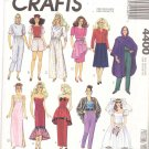 McCall's Sewing Pattern 4400 Barbie Doll Outfits Uncut and Unused