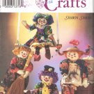Simplicity Sewing Pattern 8263 Boy and Girl Clown Dolls with Outfits Uncut and Unused