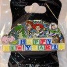 Walt Disney Imagineering WDI Happy New Year 2016 Pin Toy Story Limited Edition 250