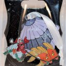 Walt Disney Imagineering WDI Christmas 2015 Gift Tag Pin Little Mermaid Sebastian Limited Ed 250
