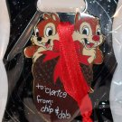 Walt Disney Imagineering WDI Christmas 2015 Gift Tag Pin Chip and Dale Limited Edition 250
