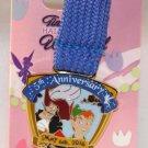 DLR runDisney 2016 Tinker Bell Half Marathon Weekend Ribbon Medal Pin 5K Run Limited Release