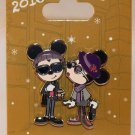 Disneyland Bon Vivant Set Number 6 Mickey and Minnie 2-Pin Set Hipster Style Limited Edition 1500