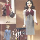 Vogue Sewing Pattern 7327 Gene Doll Day or Night Outfits Circa 1945 Uncut and Unused