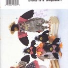 Butterick Sewing Pattern 3472 Something to Crow About Parents and Baby Crows Uncut and Unused