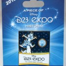 D23 Expo 2013 A Piece of 2009 Expo History Chip and Dale Banner Limited Edition 2000