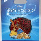 D23 Expo 2013 Stained Glass Donald Duck Pin Limited Edition 1000