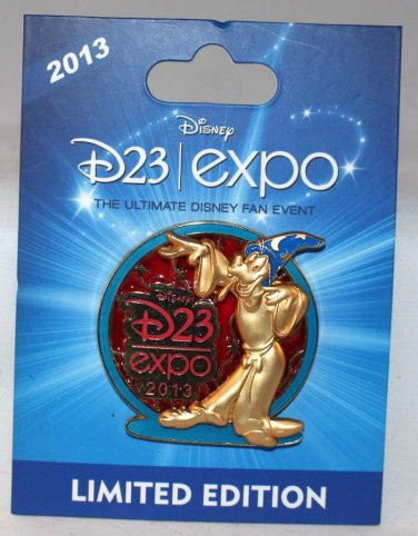 D23 Expo 2013 Stained Glass Goofy Pin Limited Edition 1000