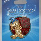 D23 Expo 2013 Stained Glass Chip and Dale Pin Limited Edition 1000