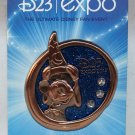 D23 Expo 2013 Glitter and Jeweled Sorcerer Mickey Pin Limited Edition 2000
