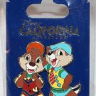 Walt Disney Imagineering WDI California Adventure Buena Vista Street Chip and Dale Pin Ltd Ed 200