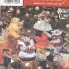 Simplicity Sewing Pattern 8990 Fabric Mice Plus Outfits Uncut and Unused