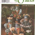 Simplicity Sewing Pattern 9584 Fabric Boy and Girl Frog Dolls and Outfits Uncut and Unused
