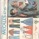 McCall's Sewing Pattern 4716 Bicentennial Outfits for Sunshine Family Uncut and Unused