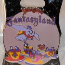 Walt Disney Imagineering WDI Retro Disneyland Attraction Pin Fantasyland Limited Edition 300