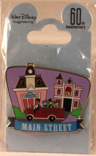 Walt Disney Imagineering WDI Disneyland Decades 1950s Pin Main Street Limited Edition 150