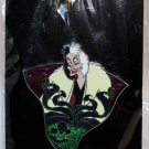 Walt Disney Imagineering WDI Holidays 2014 Halloween Pin Cruella de Vil Limited Edition 250