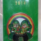 Walt Disney Imagineering WDI Holidays 2014 Pin St. Patrick's Day Chip and Dale Limited Edition 250