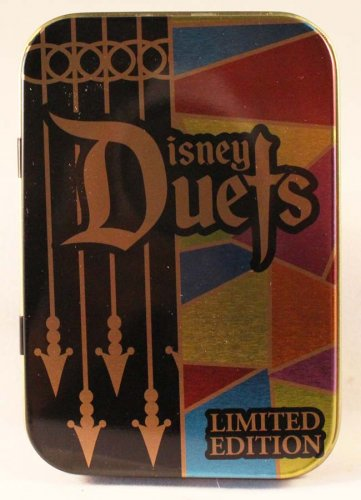 Disney Duets Pin of the Month April 2016 Maleficent and Aurora in Tin Limited Edition 3000