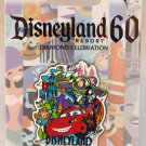 Disneyland 60th Anniversary Decades Collection Pin 2005 to 2014 Limited Edition 3000