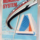 Walt Disney Imagineering WDI WDW Attraction Poster Pin Monorail Limited Edition 300