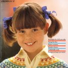 Pingouin Knitting Magazine Number 37 Children 1981 60 Couture Designs from France