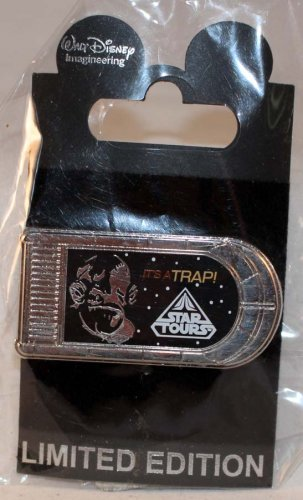 Walt Disney Imagineering WDI Star Tours Character Quotes Pin Admiral Ackbar Limited Edition 250