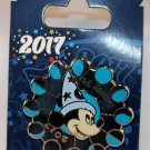 Disney Parks 2017 Phases of the Moon Sorcerer Mickey Spinner Pin
