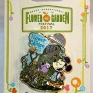 Walt Disney World Epcot Flower and Garden Festival 2017 Pin Mickey Mouse Limited Release