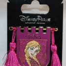 Disney Parks Princess Tapestry Pin With Tassels Frozen's Anna