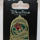 Disney Parks Mirror Pin Beauty and the Beast Beauty is Found Within