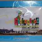 Disneyland 60th Anniversary Jumbo Marquee Pin with Litho Tinker Bell Limited Edition 1000