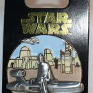Disney Star Wars Pin of the Month August 2016 Tatooine Luke Limited Edition 6000