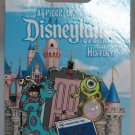 A Piece of Disneyland History Pin with Souvenir Mike and Sulley 2014 Limited Edition 1500