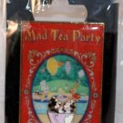 Walt Disney Imagineering WDI DLR Vintage Poster Pin Mad Tea Party Limited Edition 300