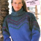 Pingouin Knitting Magazine Number 110 Fall 1988 30 Couture Designs from France