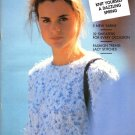 Pingouin Knitting Magazine Number 114 Fall 1989 32 Couture Designs from France