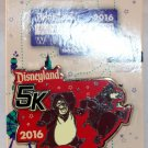runDisney Disneyland 2016 Half Marathon Weekend 5K Run Pin Limited Release Big Al