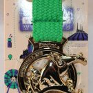runDisney Disneyland 2016 Half Marathon Weekend 10K Ribbon Medal Pin Limited Release