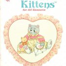 Designs by Gloria and Pat Calico Kittens for All Seasons to Cross Stitch 15 Designs