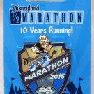 runDisney Disneyland 2015 Half Marathon Weekend Half Marathon Pin Limited Release