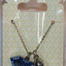 runDisney Disneyland 2015 Half Marathon Weekend Necklace with 2 Charms