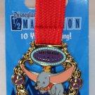 runDisney Disneyland 2015 Half Marathon Weekend Dumbo Double Dare Medal Pin Limited Release